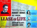 Lease of Life – 1954 Robert Donat Kay Walsh Adrienne Co..