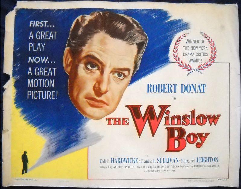 The Winslow Boy | Robert Donat